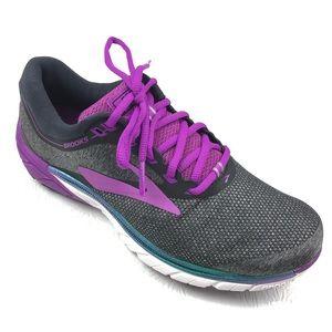 BROOKS PureCadence 7 running shoes 9 black purple